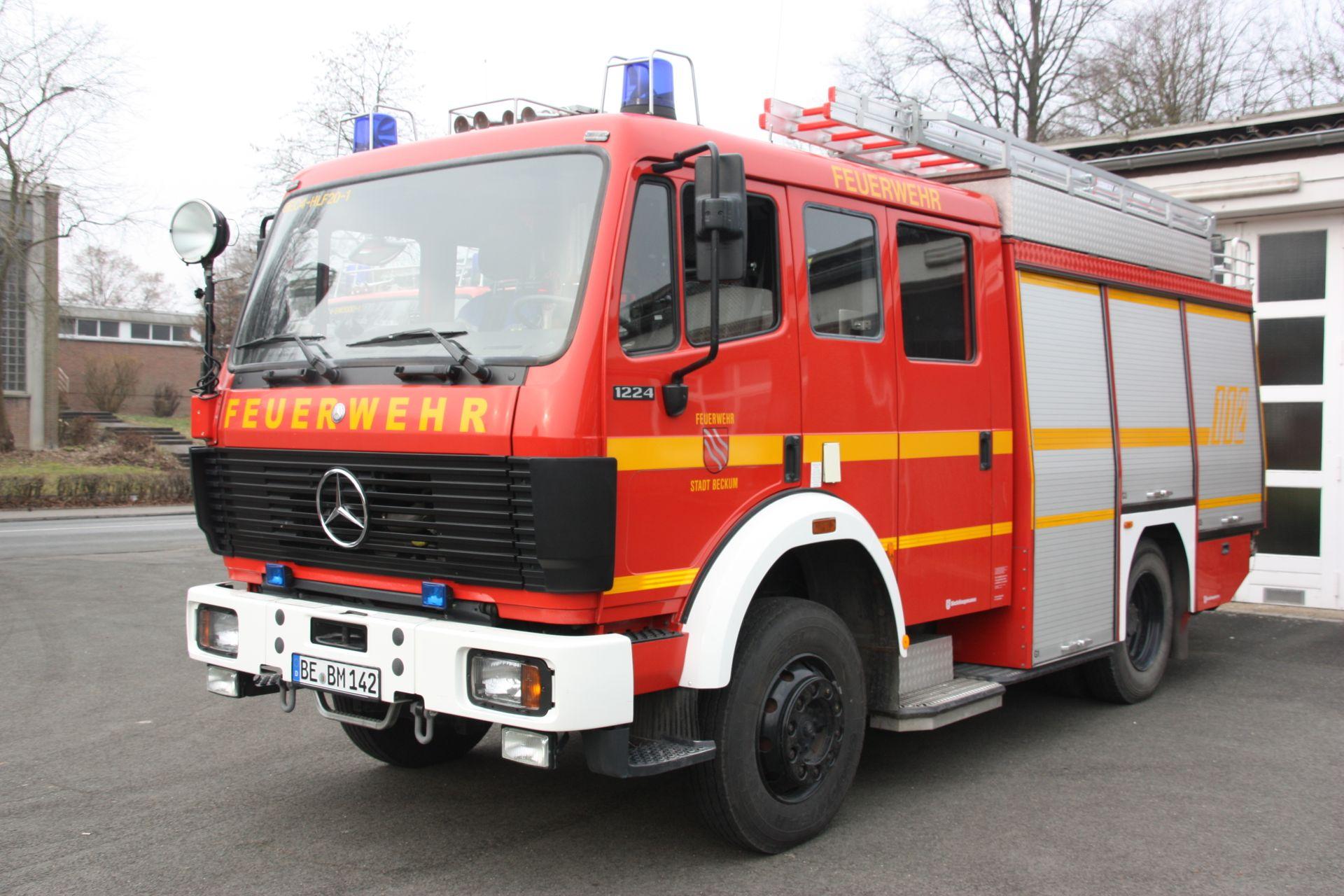 Feuerwehr Beckum - Fahrzeuge Beckum