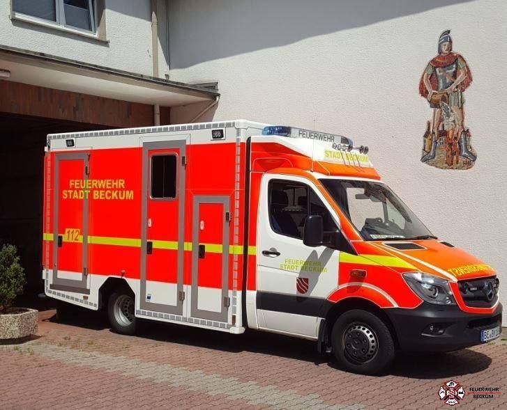 Feuerwehr Beckum - Rettungswache Neubeckum
