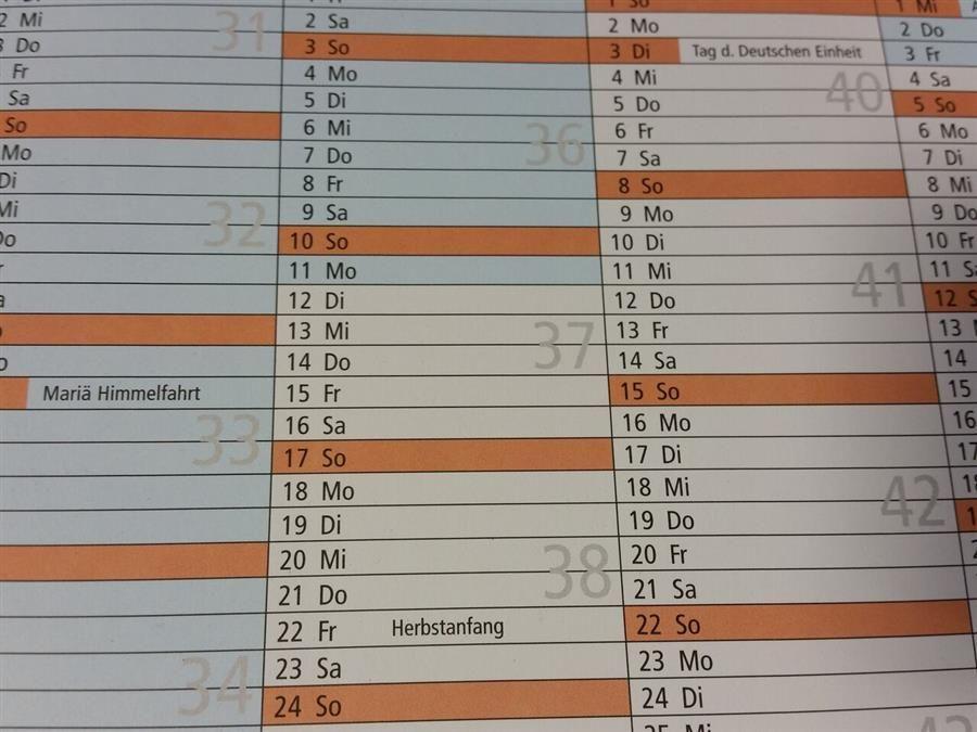 Unsere Termine im Überblick - Terminkalender