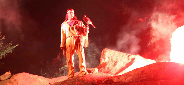 Winnetou und Kapitän Kaiman - Inszenierung