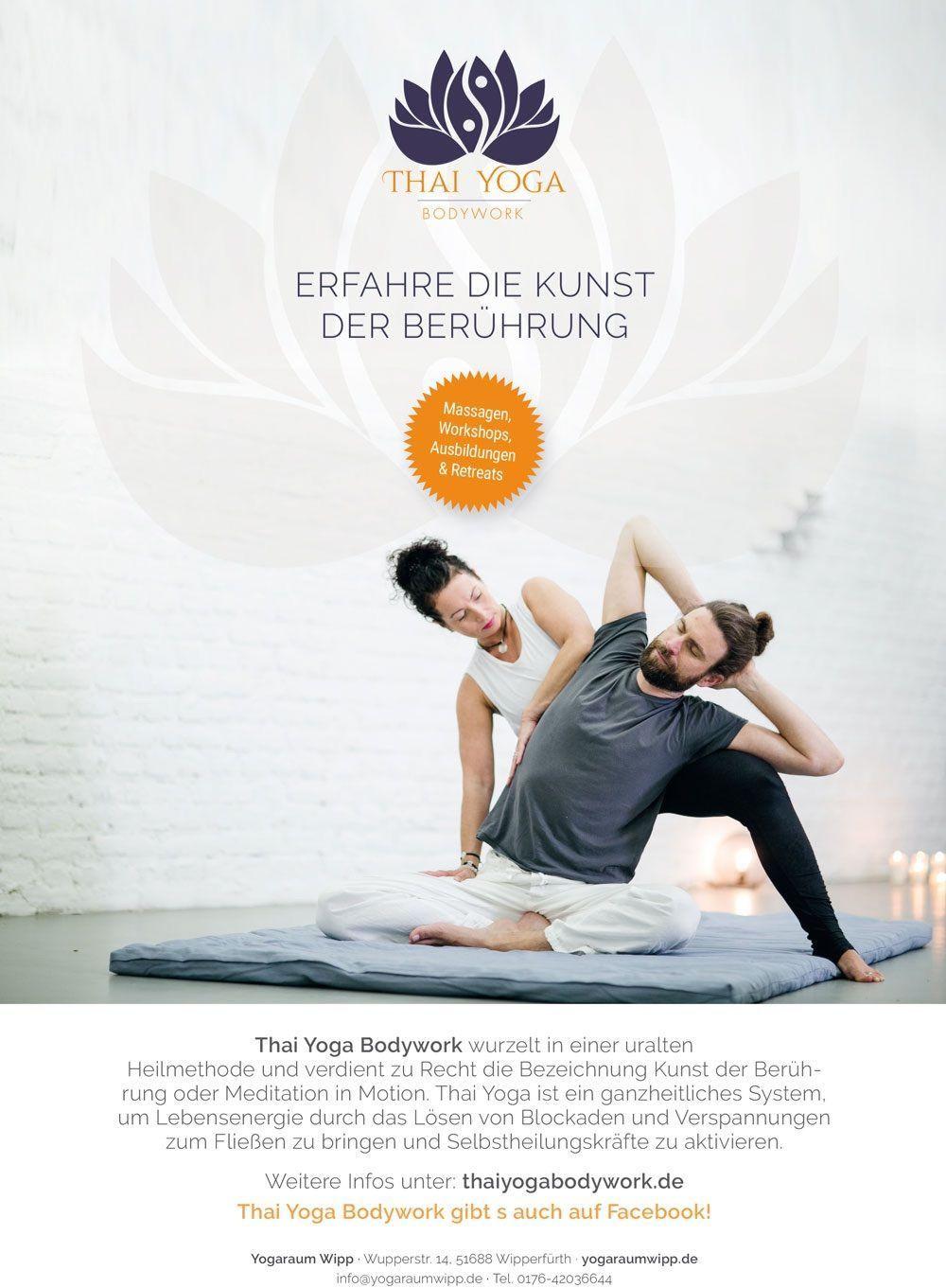 Thai YogaBodywork - Thaiyoga-Bodywork