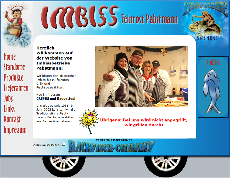 Pabstmann Imbissbetriebe   Werbegemeinschaft Rehau