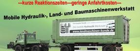 MB Unimog 1600 - Komplett-Restauration | Christopher Kunde Land- und Baumaschinen GmbH & Co. KG
