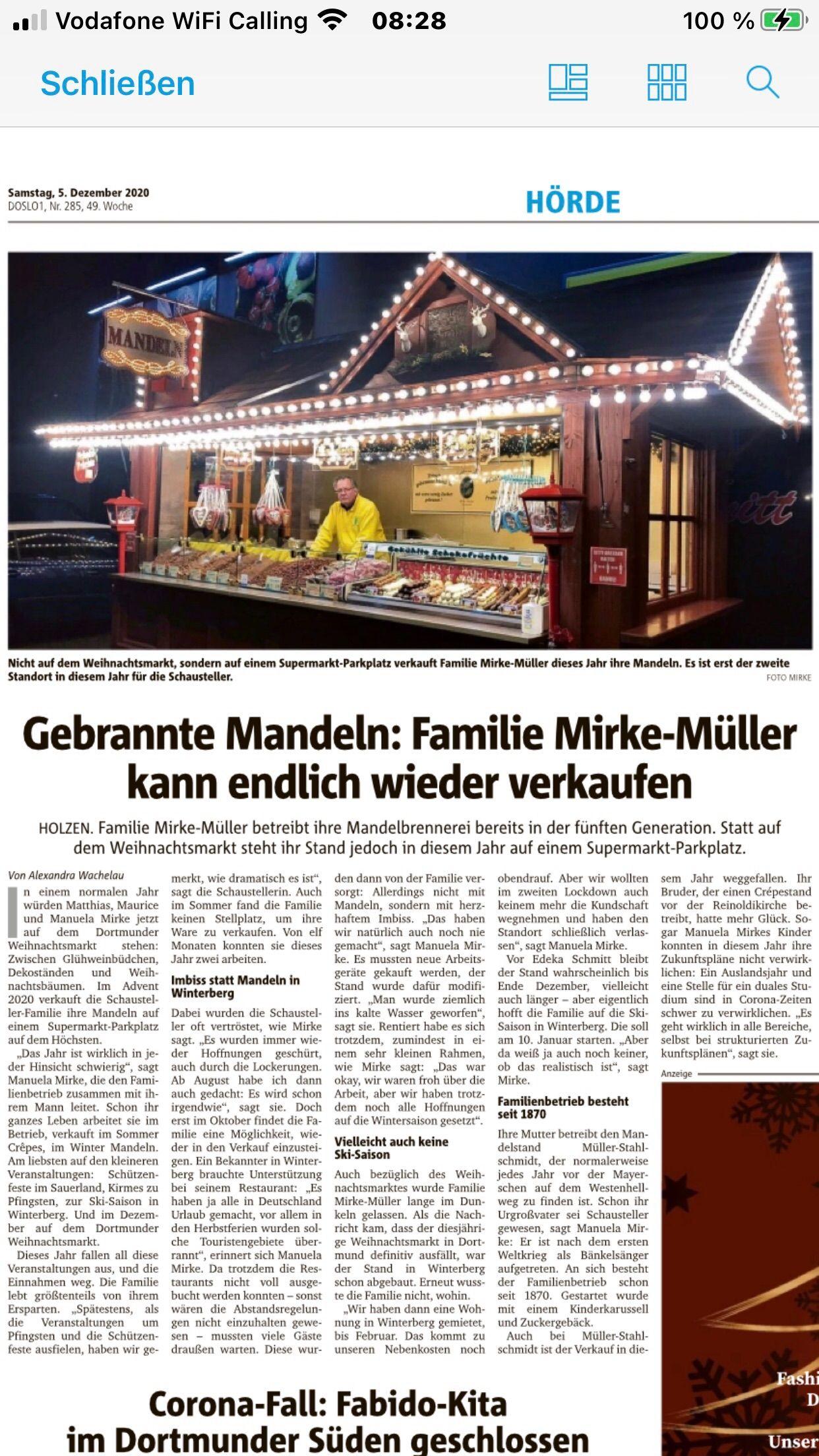 Presse   Schaustellerbetrieb Mirke-Müller