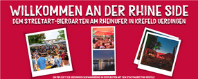 Instagram | Rhine Side –Streetart-Biergarten am Rheinufer