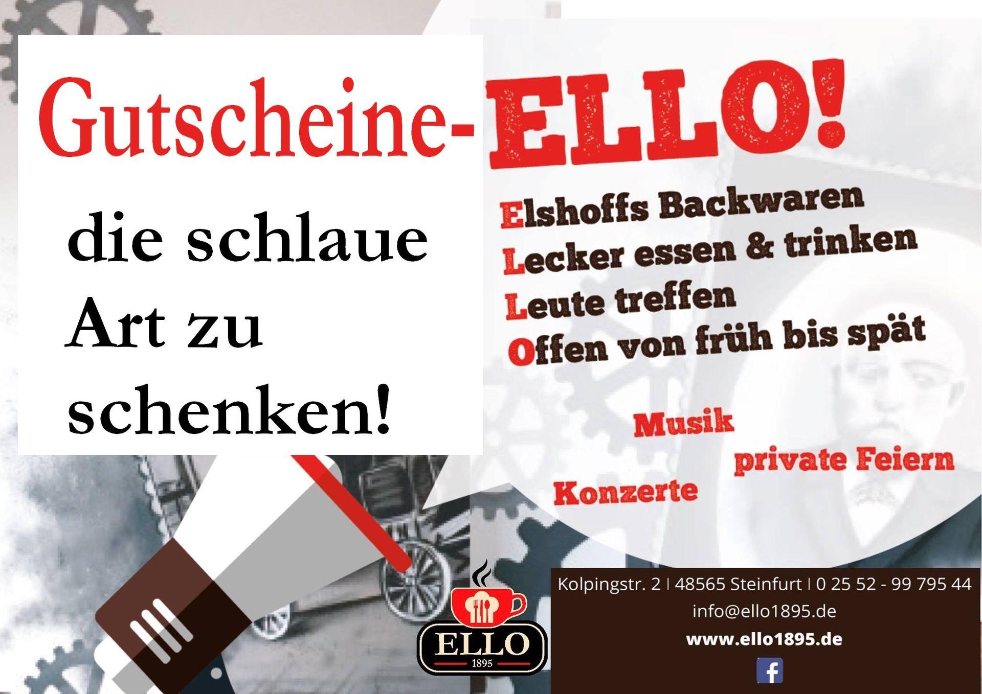 Herzlich willkommen! - (H)ELLO | ELLO - 1895