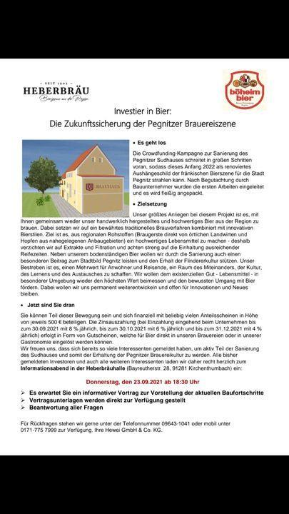 Neuigkeiten | Heberbräu