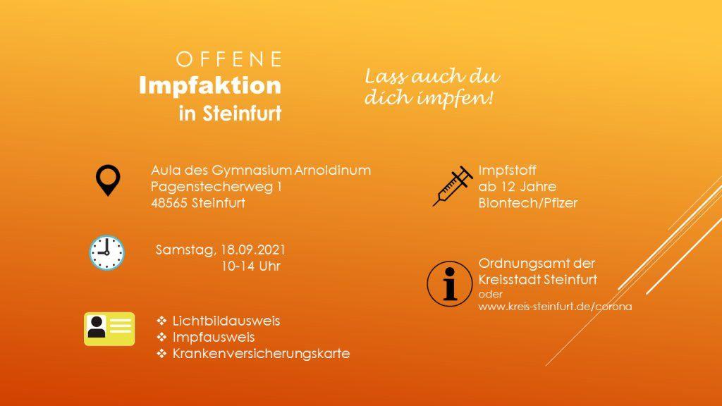 Die Stadt Steinfurt informiert - Infos aus dem