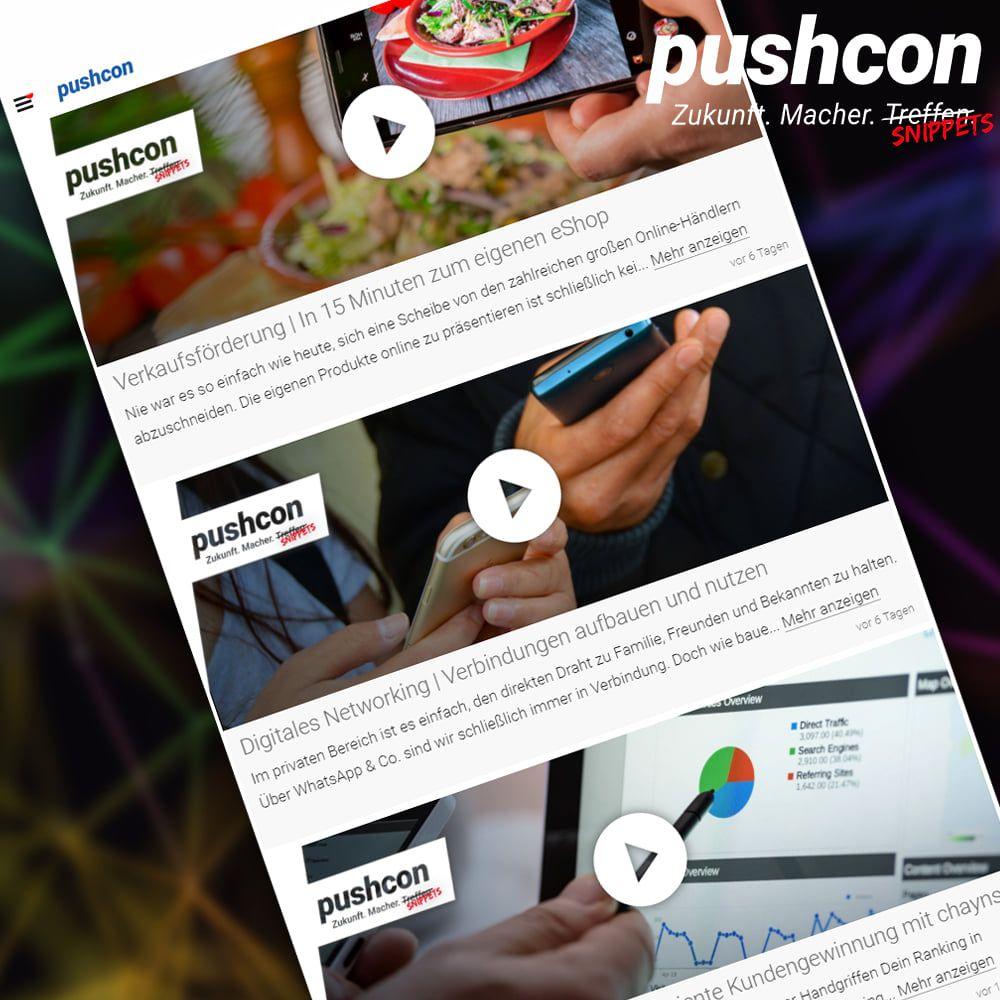 Aktuelle Neuigkeiten - News | pushcon