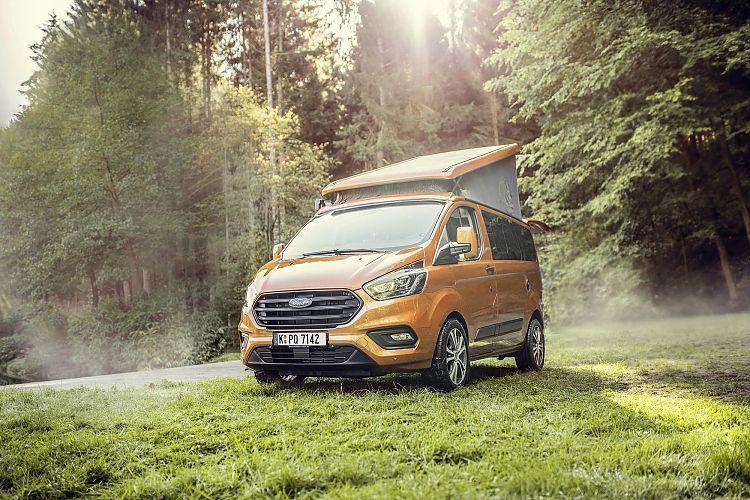 Ford Nugget Aufstelldach mieten | Stücken und Dopp