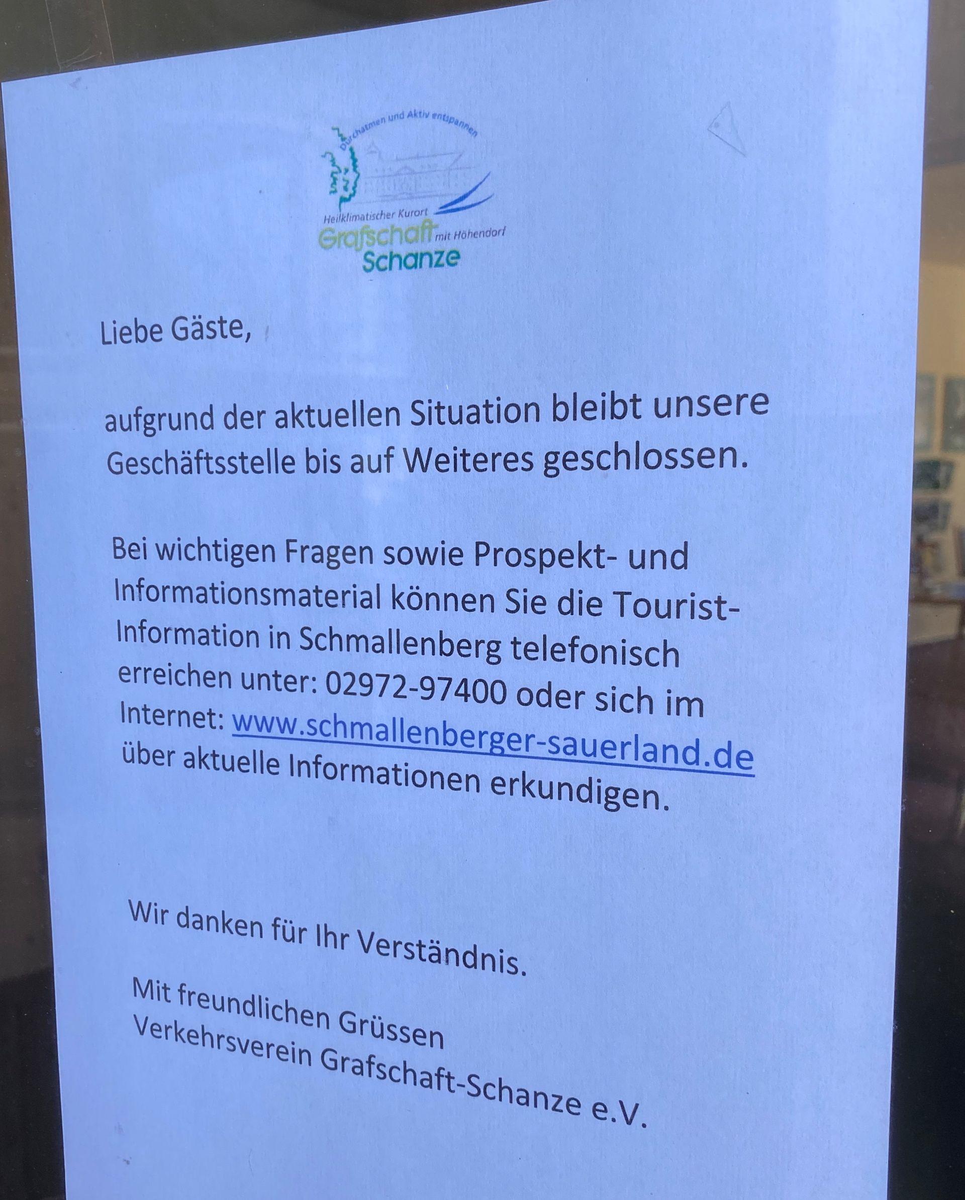 Verkehrsverein Grafschaft/Schanze e. V.