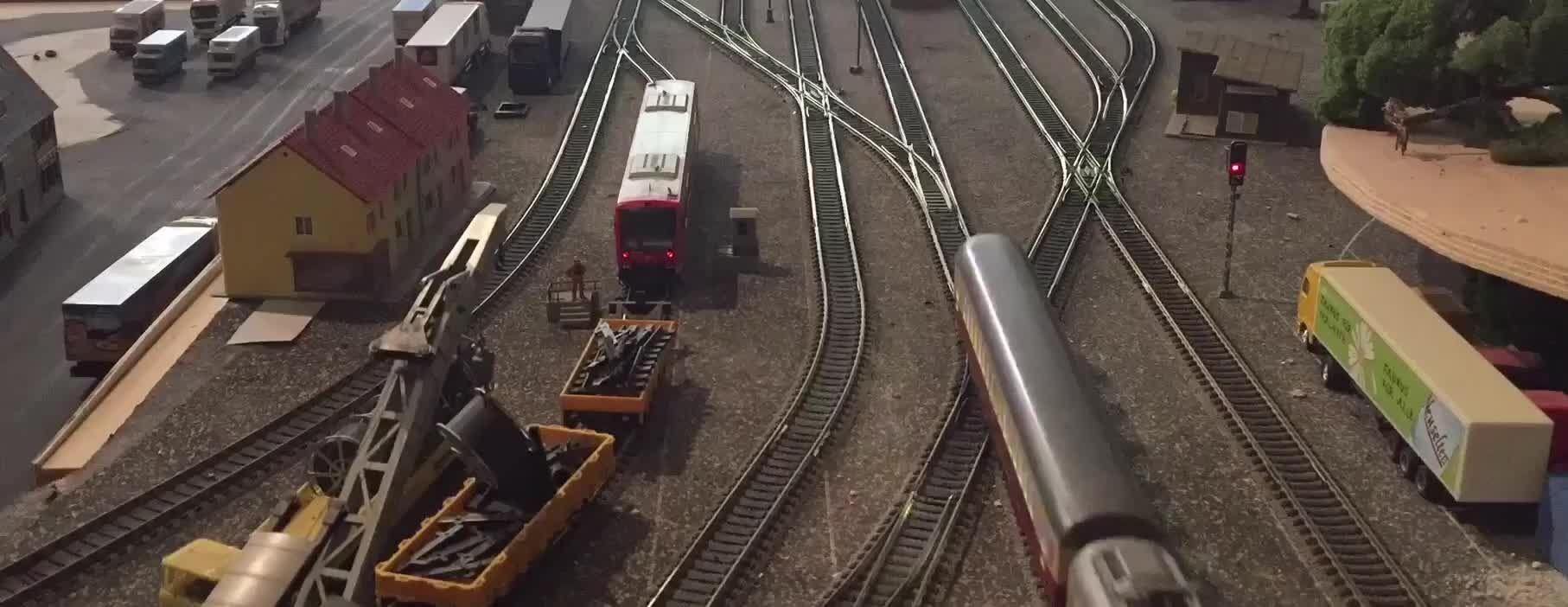 Modellbahn am Rothaarsteig | Der Graf schafft das