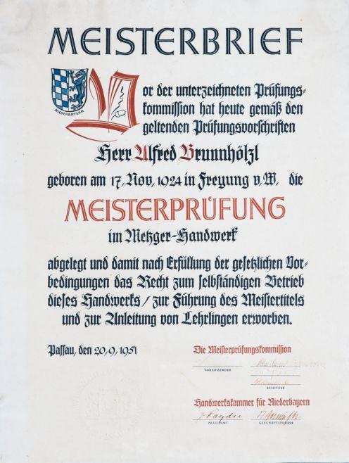 Chronik | Metzgerei Lederer