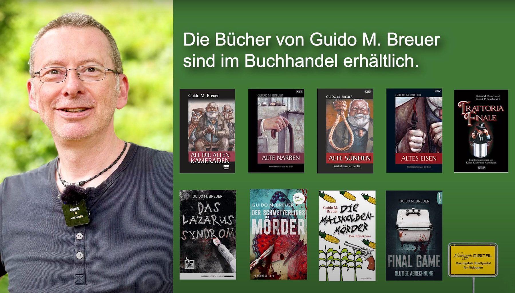 Kultur - Krimiautor Guido M. Breuer