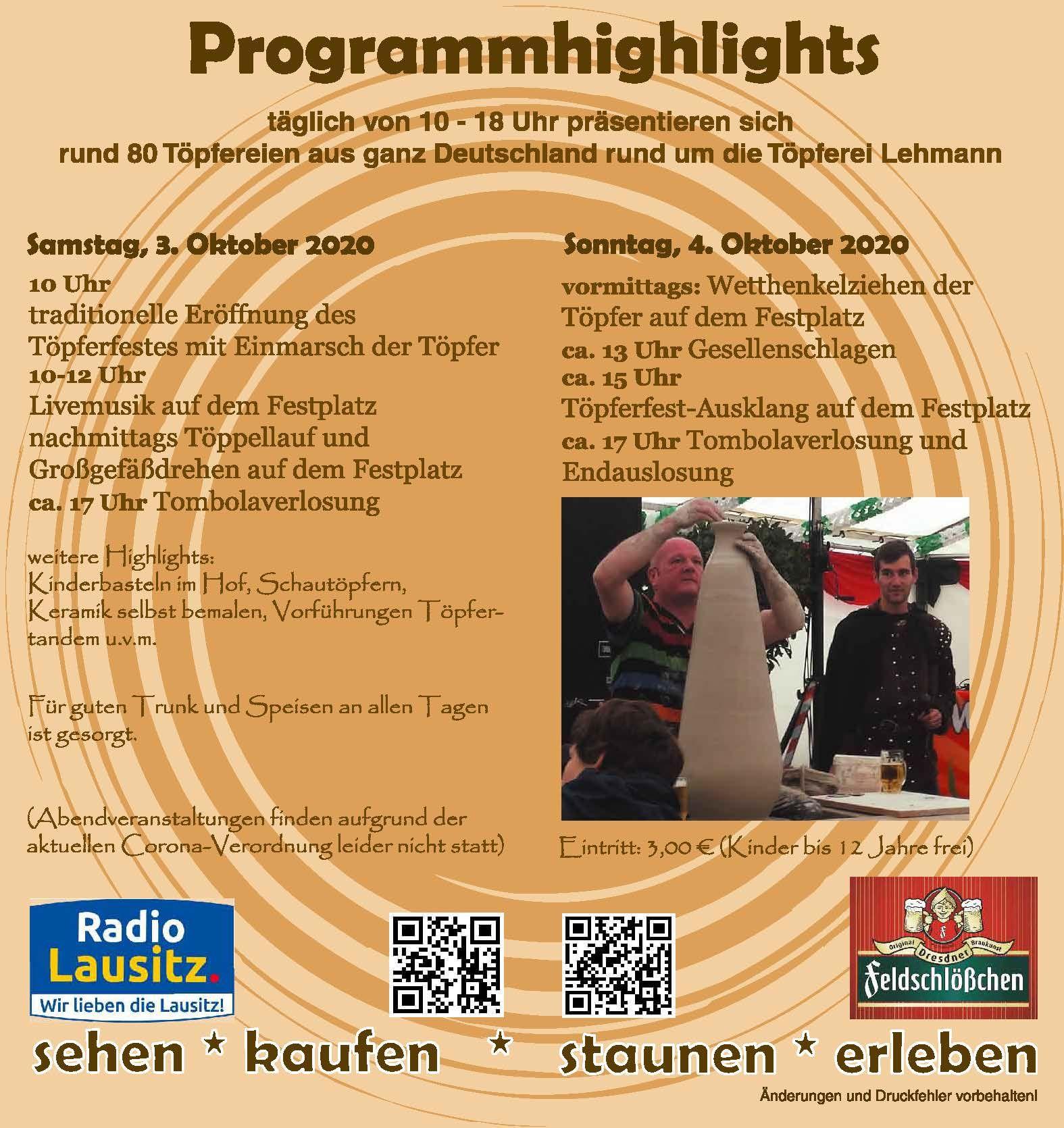 Aktuell | Töpferfest Neukirch/L.