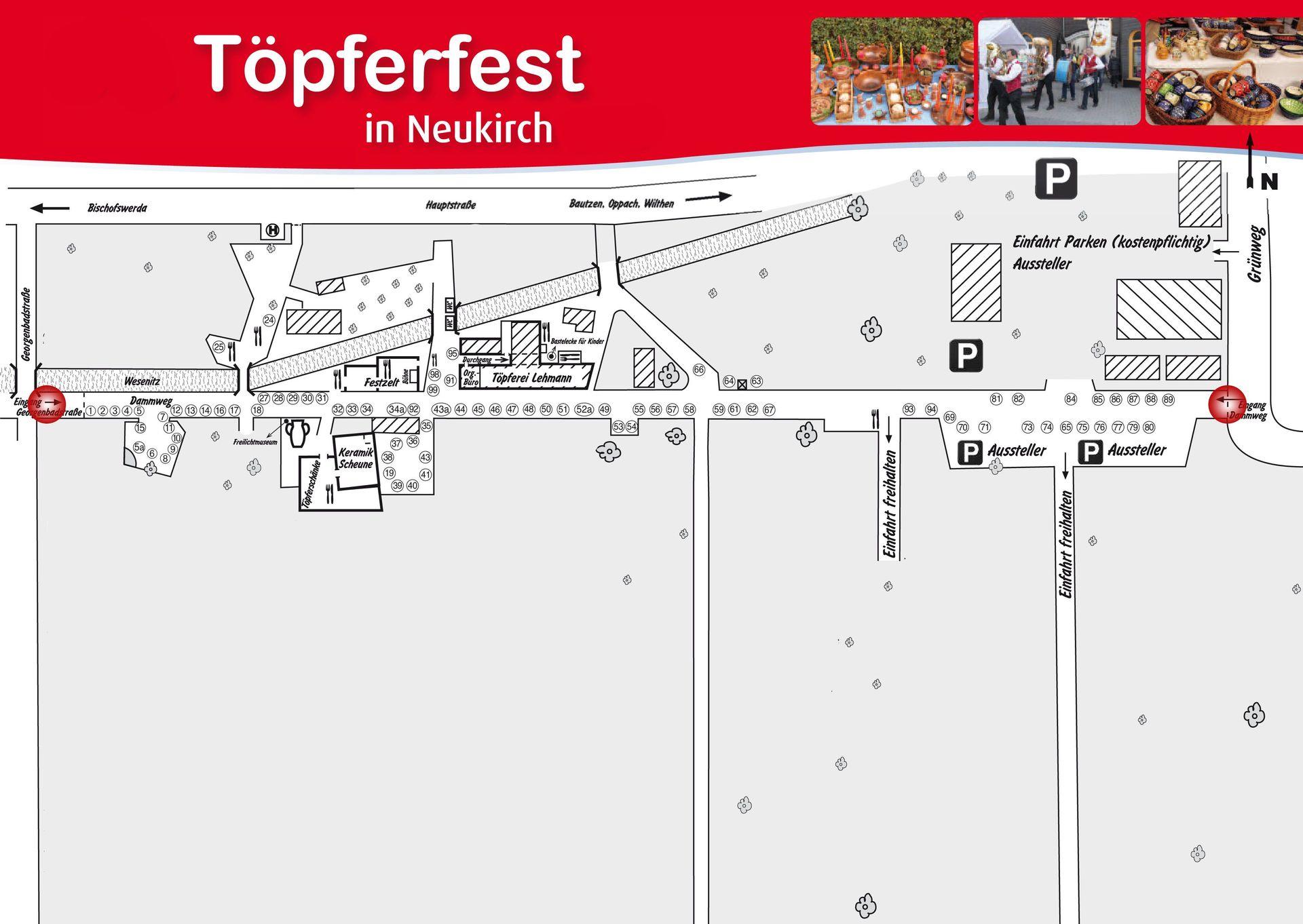 Eintrittspreise | Töpferfest Neukirch/L.