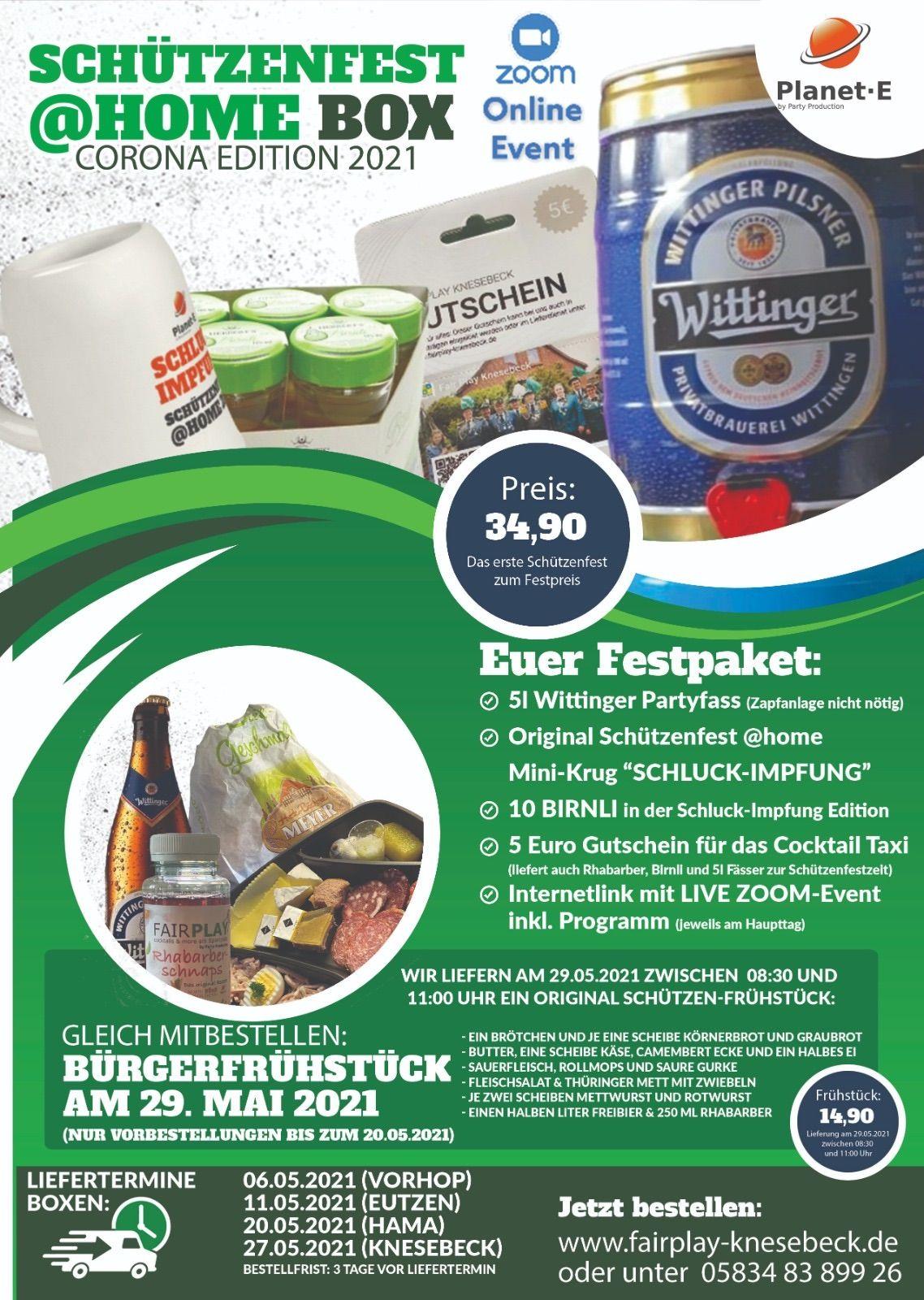 Schützenfest@home | Fair Play Knesebeck