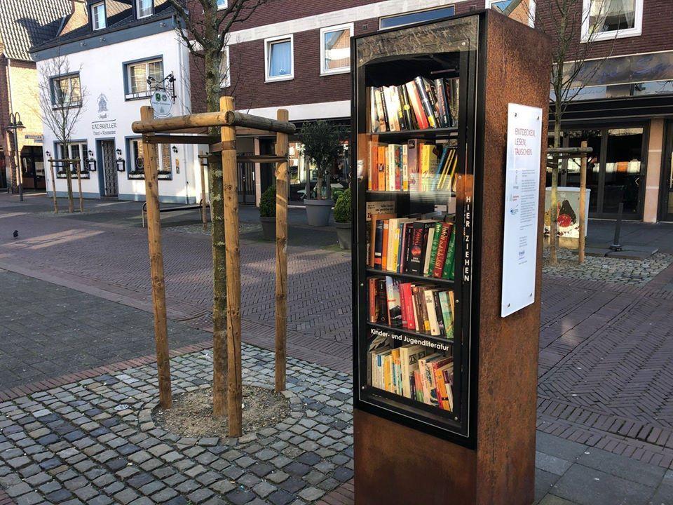 Der offene Bücherschrank | geldern.digital