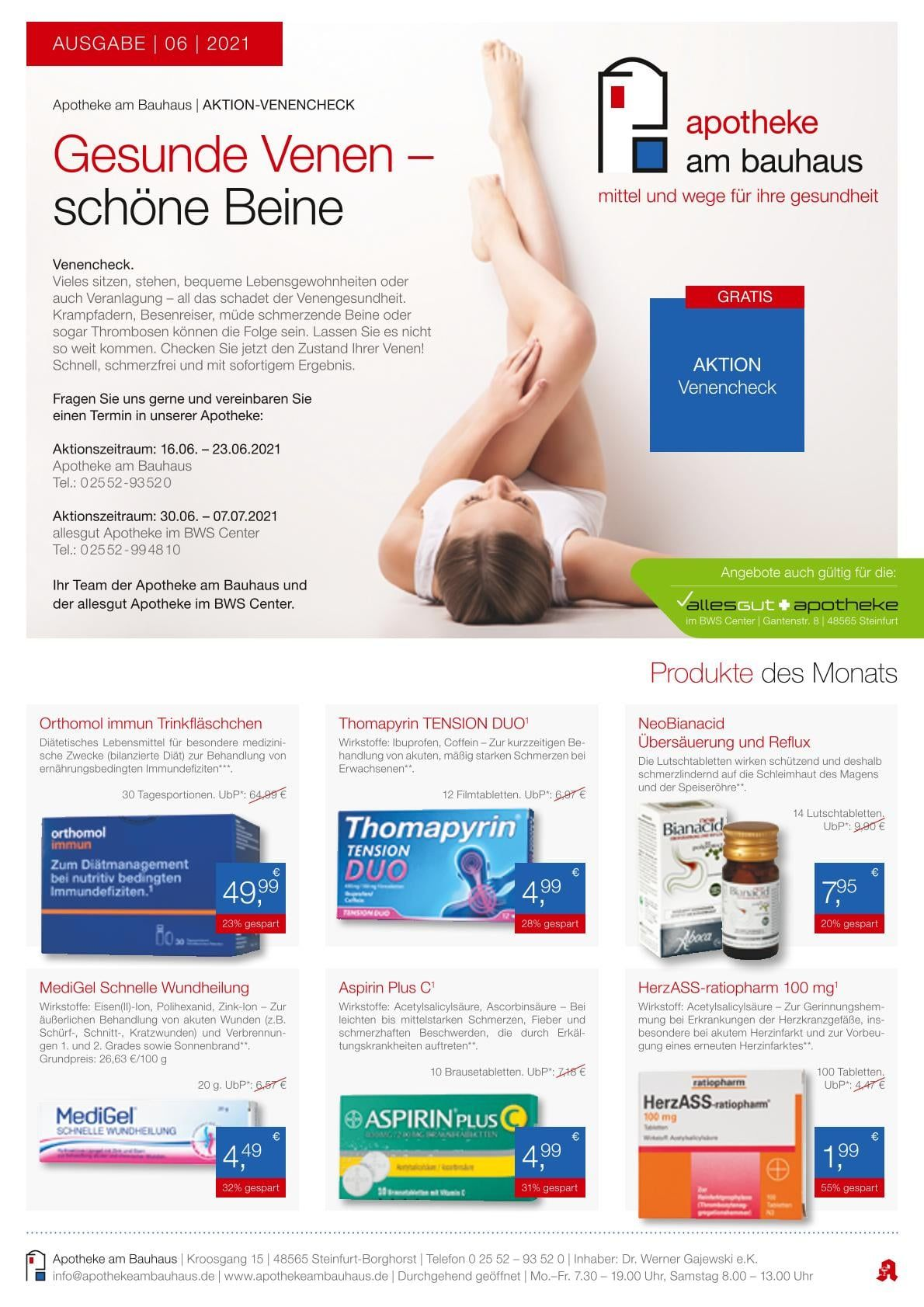 Gesundheit & Fitness | Die Steinfurter