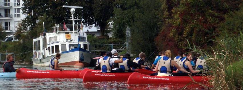 Kanutouren | Hochrhein-Kanu