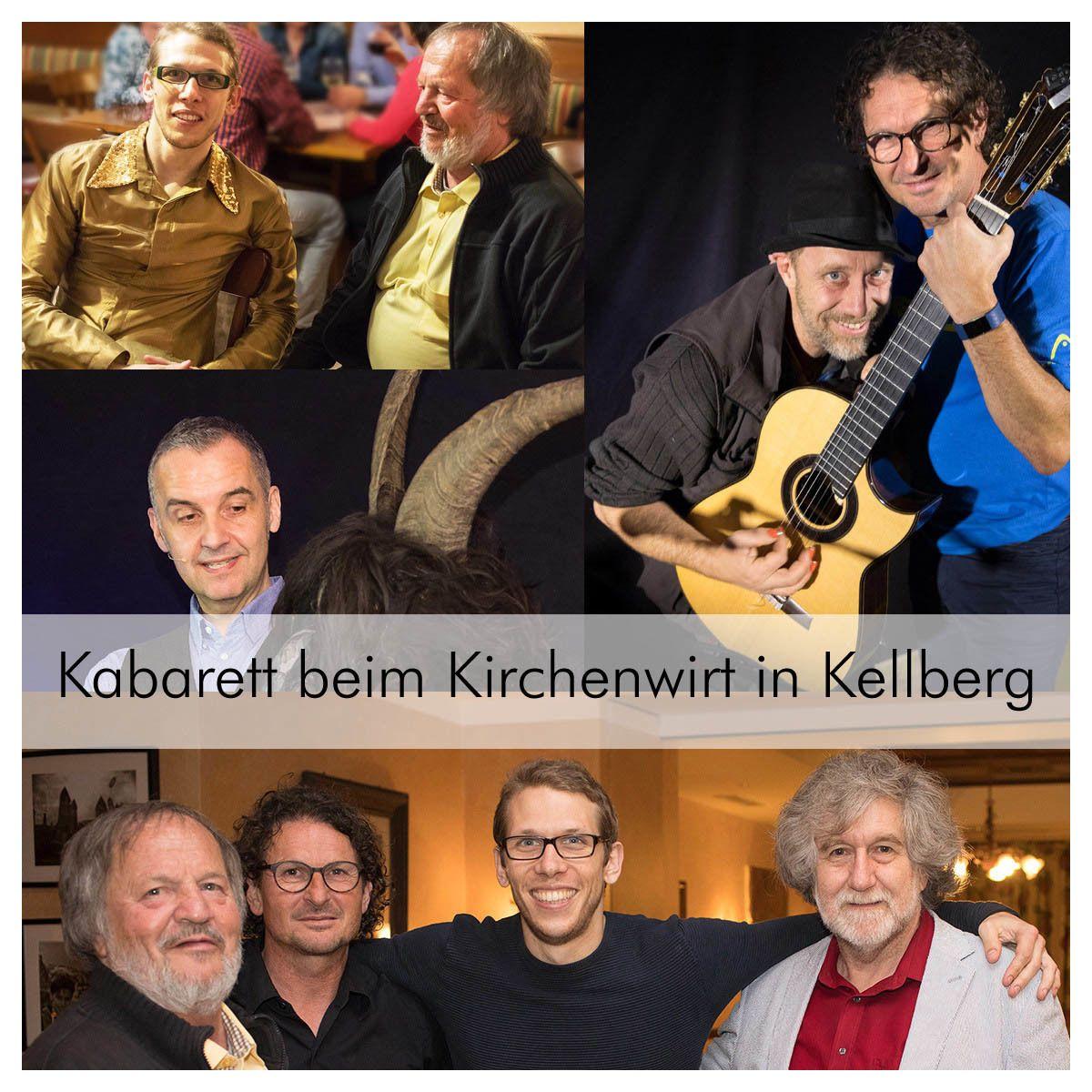 Kabarett beim Kirchenwirt Kellberg