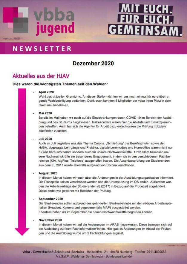 Hauptjugend- und Auszubildendenvertretung (HJAV)
