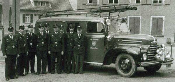 Chronik der Feuerwehr Ottenhöfen - Chronik FF
