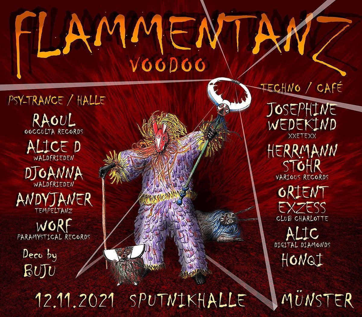 Line up: - LineUp   flammentanz