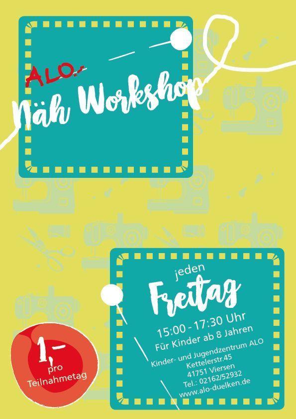 Näh-Workshop Freitags | alo-duelken