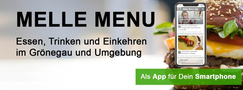 Melle Menu App | Melle Menu
