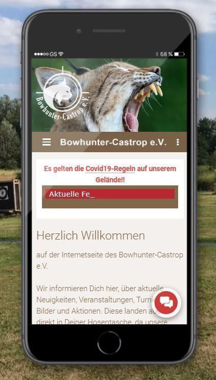 Progressive Web App (PWA) | Bowhunter-Castrop e.V.