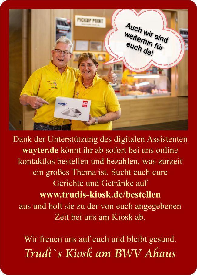 Herzlich Willkommen beiTrudis Kiosk - Willkommen!