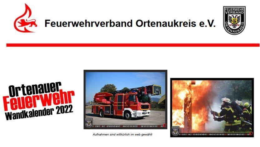 Wandkalender 2022 | Feuerwehrverband -