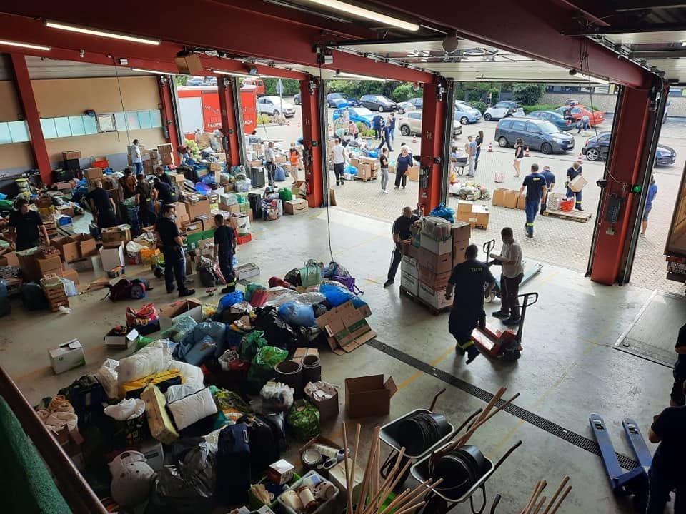 Katastrophenhilfe Hochwasser in NRW und RP