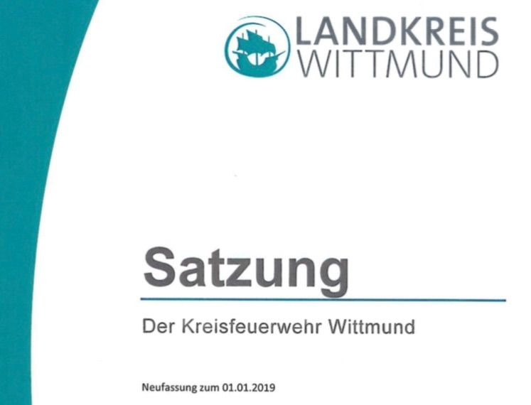 Satzung der Kreisfeuerwehr Wittmund