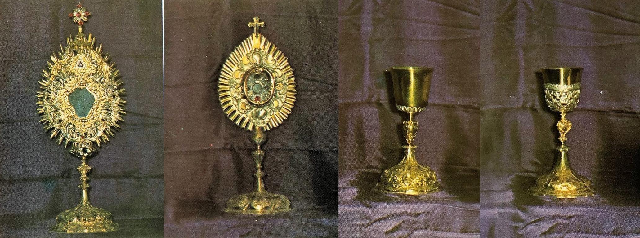 Kirchenschätze der Pfarrei Ebnath - Kirchenschatz