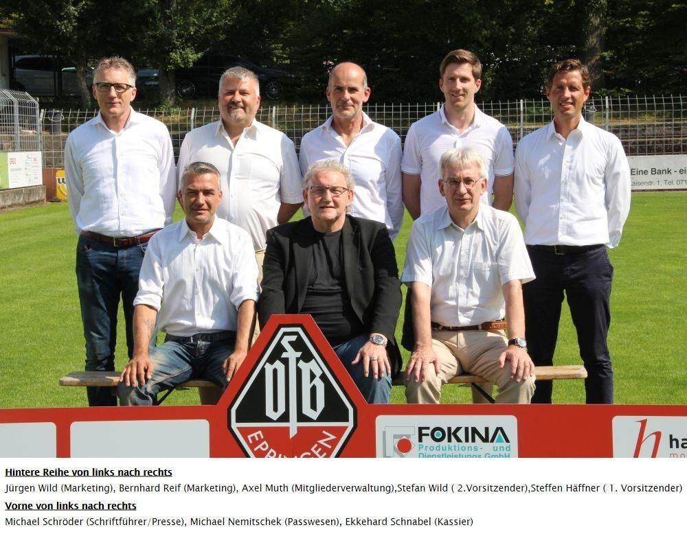 Vorstand - Verein | VfB Eppingen