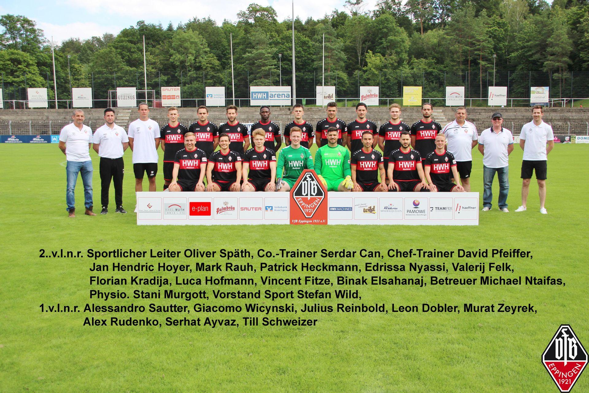 Aktivenbereich - Herren | VfB Eppingen