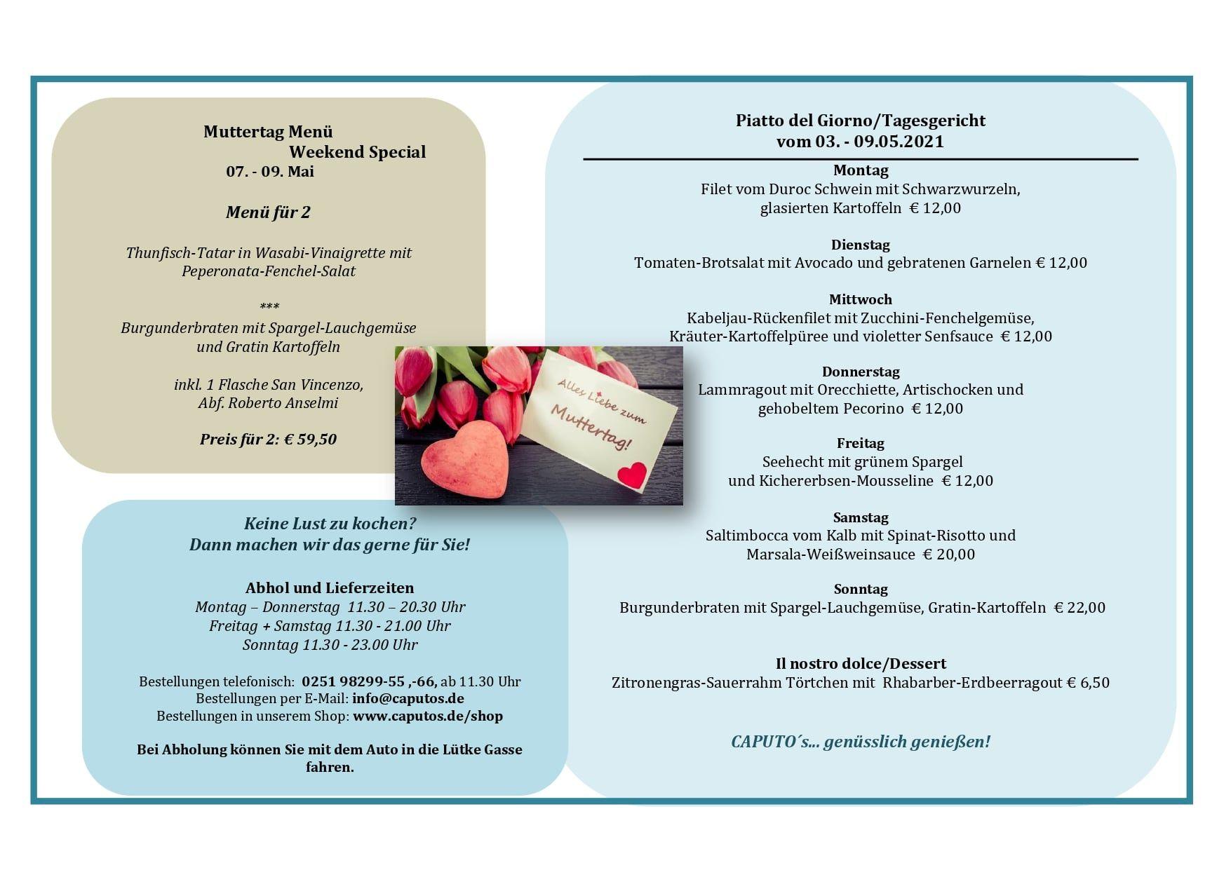 Mittagsgericht | caputos