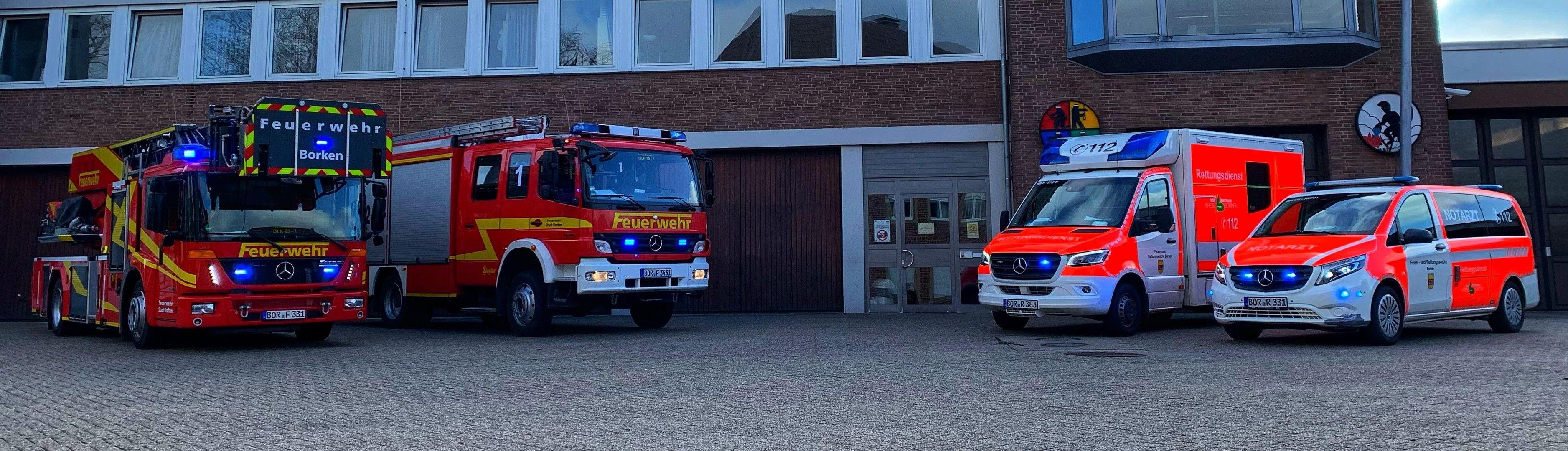 Einsatzfahrzeuge | Feuerwehr Borken