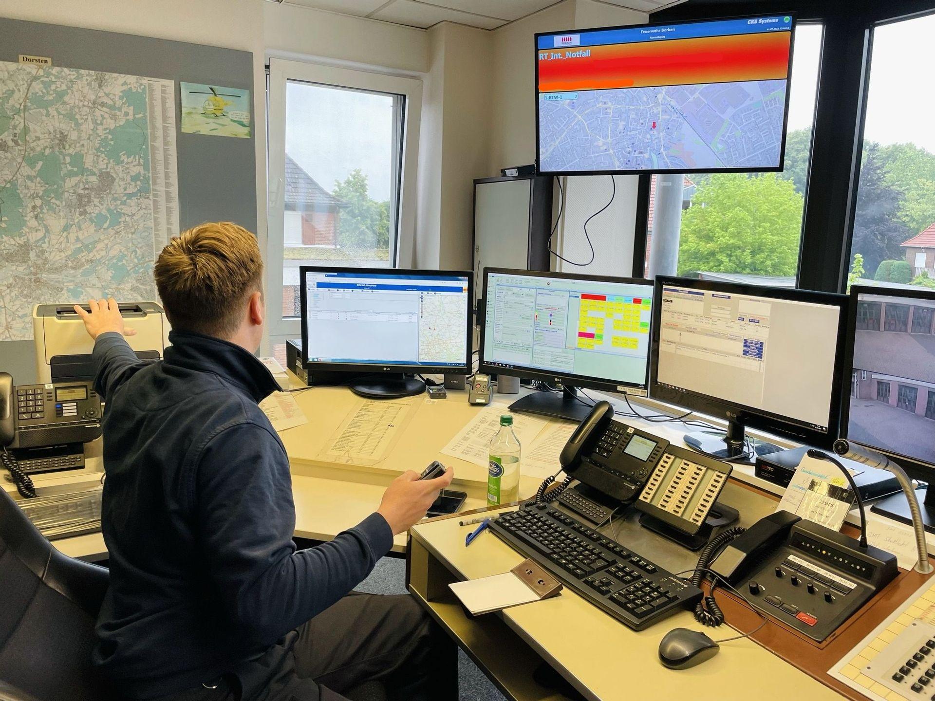 Koordinierungsstelle   Feuerwehr Borken