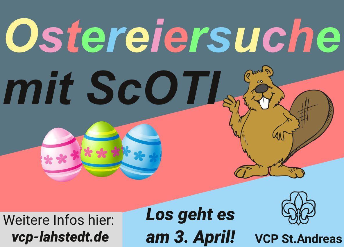 Ostereiersuche mit ScOTI | vcp-standreas