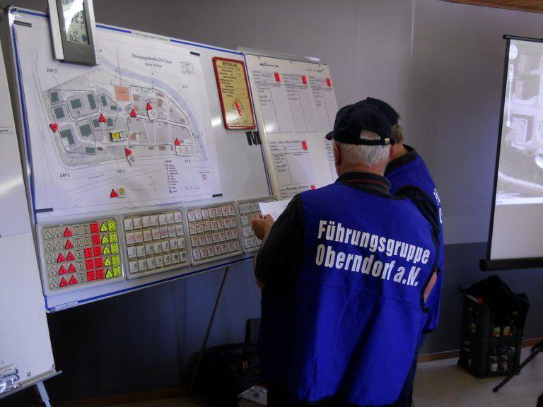Führungsgruppe der Feuerwehr Oberndorf