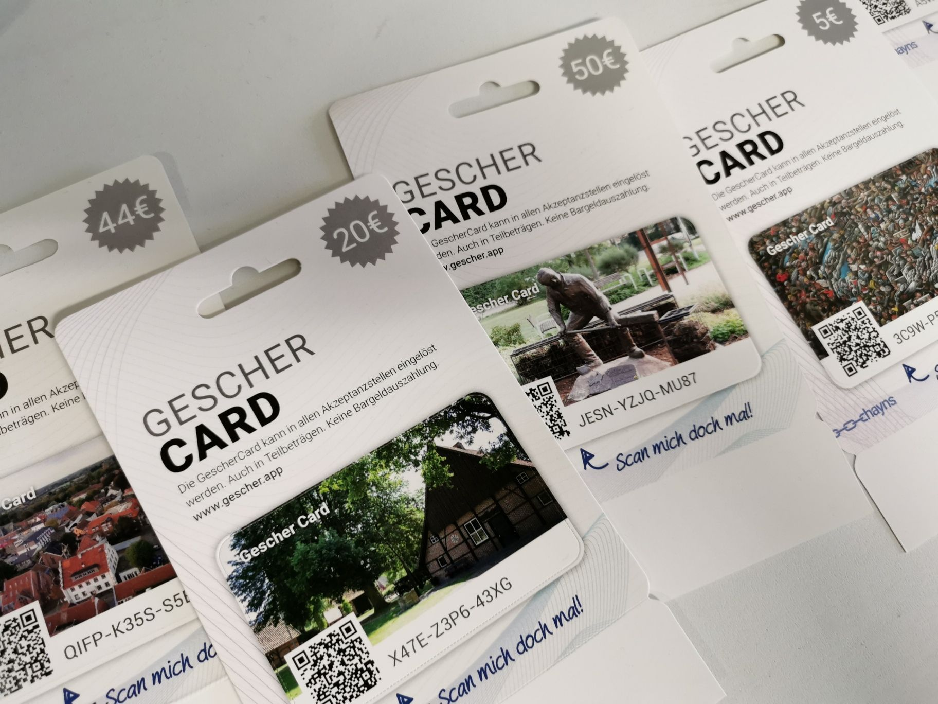 GescherCard - Gescher Card   Gescher.app