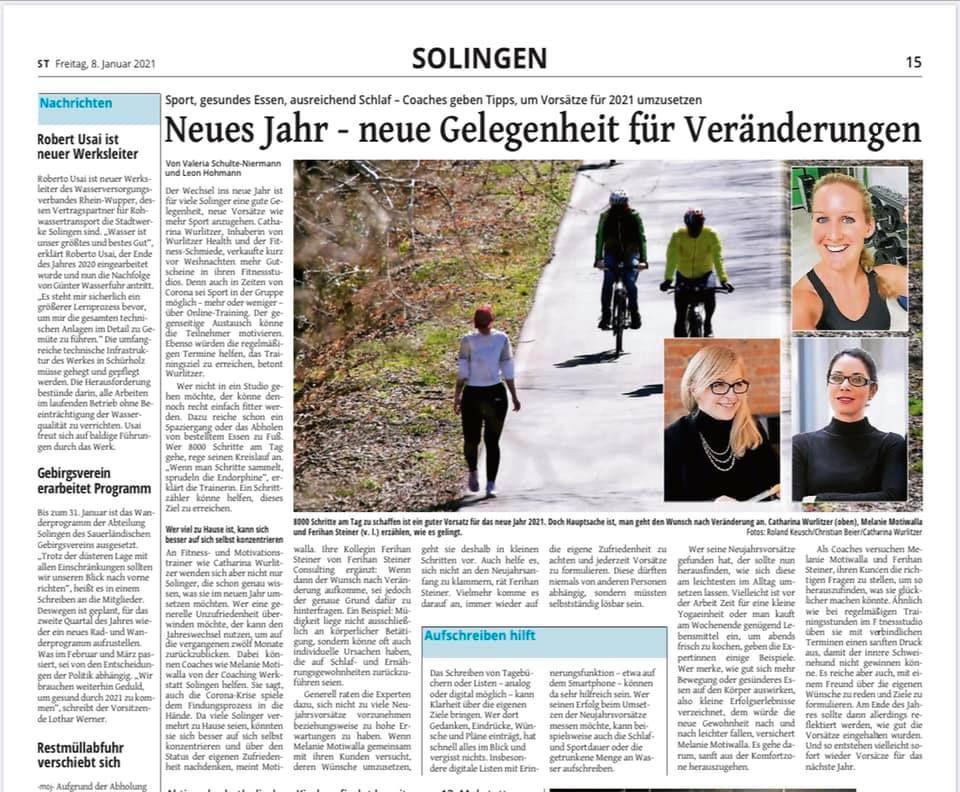 Bildung & Soziales NEWS | ISG Solingen-Ohligs e.V.
