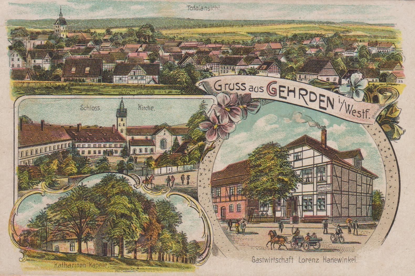 Geschichte von Gehrden | Brakel-Gehrden