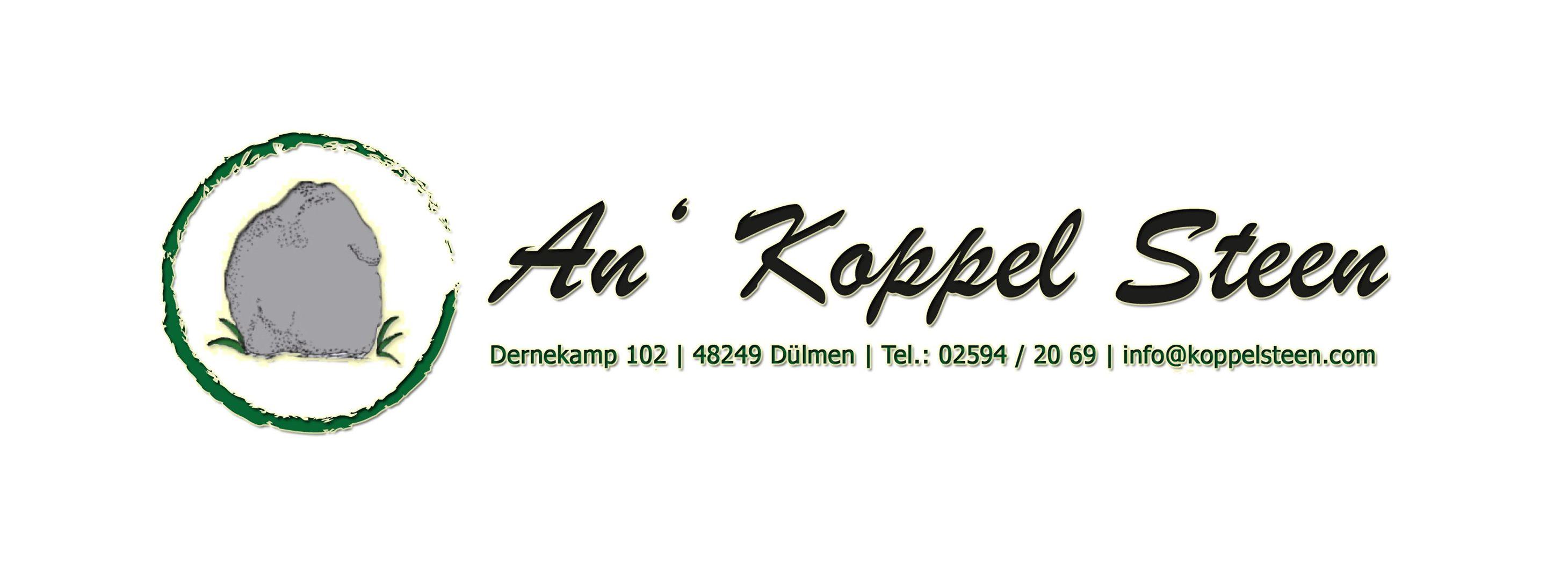 Öffnungszeiten | An´ Koppel Steen