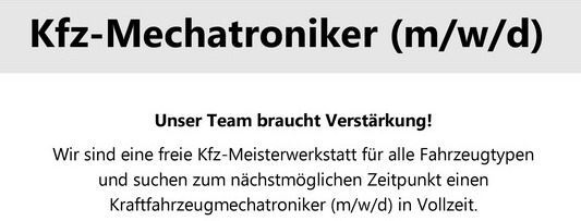 KFZ-Meisterbetrieb Harald Kohlmann - Willkommen!