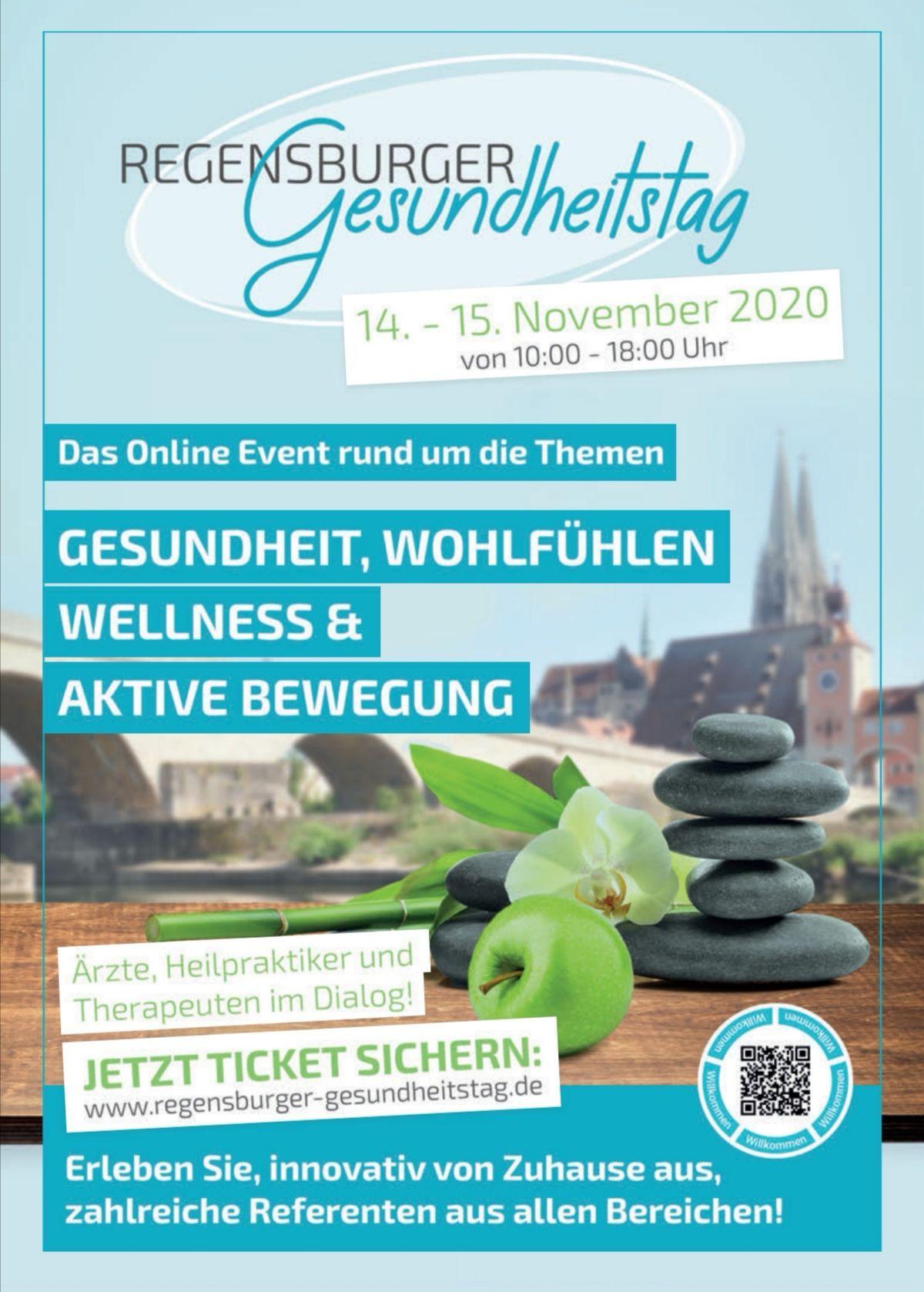 Broschüre Regensburger Gesundheitstage 2020