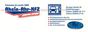 Ihr Weg zu uns | Rhein-Ahr-KFZ